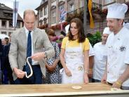 Royales Handwerk: Brezeln von William und Kate werden versteigert