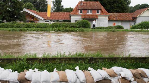 Pegelstände in Hildesheim steigen wieder