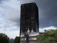London: Hochhausbrand: Polizei ermittelt wegen fahrlässiger Tötung
