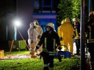 Großeinsatz für Feuerwehr: Chemieunfall in Asperg