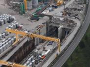 Logistikbranche besorgt: Bahn füllt Tunnel an gesperrter Bahnstrecke mit Beton