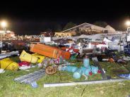Durch Unwetter: Zwei Menschen sterben bei Einsturz von Festzelt in Österreich