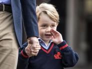 Einschulung: Kleiner Prinz George drückt jetzt die Schulbank