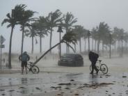 Erste Bilanzen: «Irma» schwächt sich ab - aber gewaltige Sturmschäden
