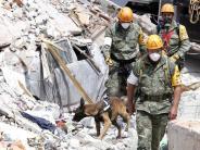 Erdbeben: Zahl der Toten nach Erdbeben in Mexiko steigt weiter