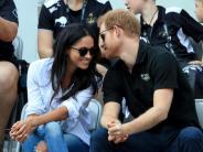 Royals: Prinz Harry und Meghan Markle: Erster öffentlicher Auftritt als Paar