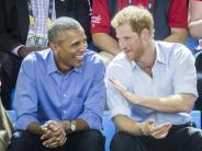In Toronto: Prinz Harry und Obama gemeinsam bei «Invictus Games»