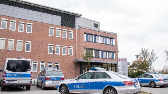 Messerangriff in Klinik - Polizei erschießt Mann