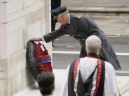 «Remembrance Sunday»: Queen und Königsfamilie gedenken der Kriegstoten
