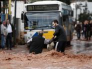 Griechenland: Tote und Verletzte nach schweren Überschwemmungen