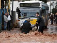 Dauerregen: Zahl der Flutopfer in Griechenland steigt auf 19