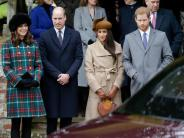 Britisches Königshaus: Meghan Markle mit Queen beim Weihnachtsgottesdienst