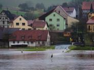 Nach Orkantief «Burglind»: Hochwasser steigt: Anspannung an deutschen Flüssen