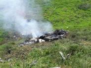 Ungeklärte Ursache: Zehn Tote bei Absturz von Militärhelikopter in Kolumbien