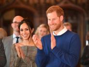 Harry of Wales: Meghan Markle und Prinz Harry in Cardiff wie Popstars empfangen