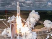 Von Flugbahn abgewichen: Panne bei Start einer Ariane-5-Rakete