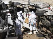 Mexiko: Schweres Unglück nach Beben in Mexiko: 13 Tote bei Helikopterabsturz