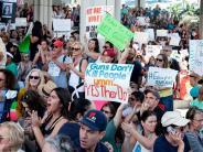 USA: Wut richtet sich nach Parkland-Attentat auch gegen Donald Trump