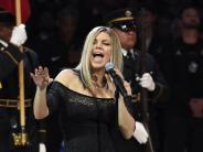 USA: Fergie ist zerknirscht über Kritik an ihrer Interpretation der US-Hymne