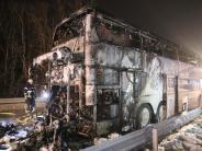 15 Schüler leicht verletzt: Bus in Brand geraten