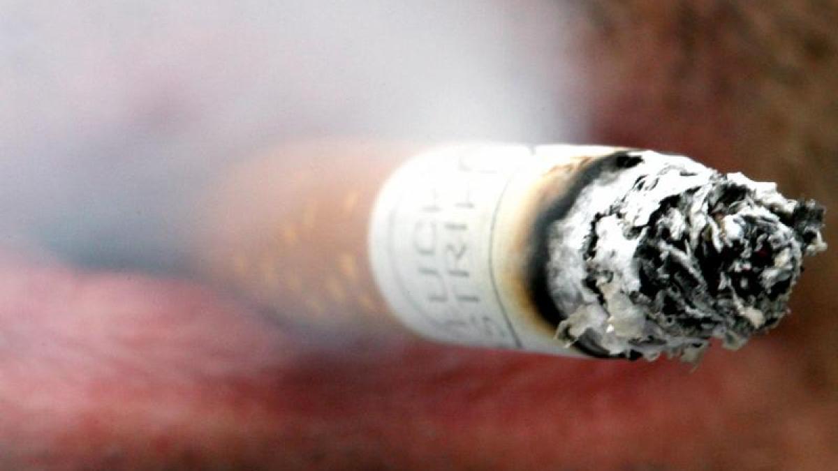 Wie Rauchen aufzugeben, zuzureden