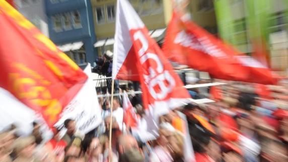 Mai: Gewerkschaften fordern mehr soziale Gerechtigkeit