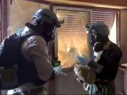 Syrien: UN-Bericht: Syrische Regierung und IS setzten Chemiewaffen ein