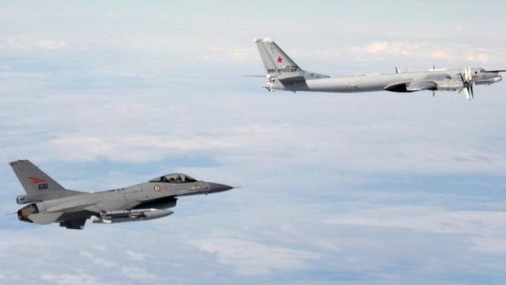 Nato-Kampfjet nähert sich russischer Ministermaschine