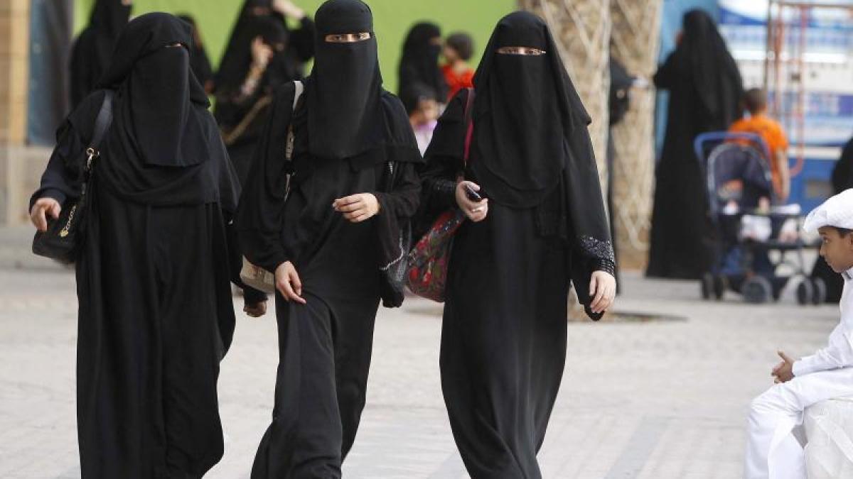 Arabische Frauen des arschs