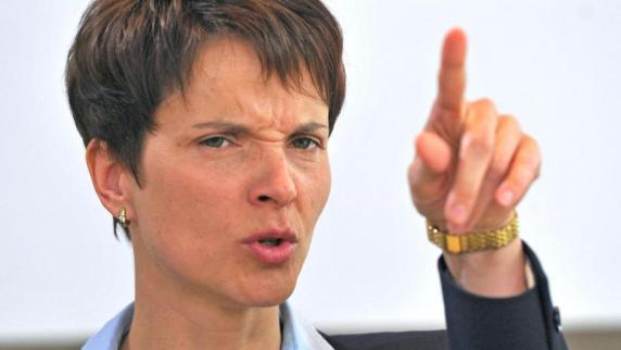 Verwaltungsgericht Augsburg: Gericht kippt Rathaus-Hausverbot gegen AfD-Chefin Frauke Petry