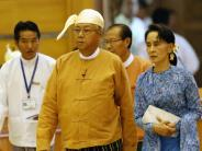 Regierung: Ende der Militärmacht: Präsident in Myanmar vereidigt
