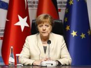Flüchtlingspakt: Angela Merkel steht heute in der Türkei unter Druck