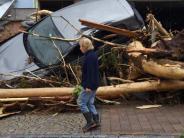 """Sturmtief """"Elvira"""": Noch kein Ende der Unwetter in Sicht"""