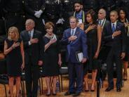 Kriminalität: Obama und Bush beschwören Einheit