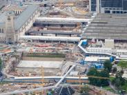 Deutsche Bahn: Bahn hält trotz neuer Proteste an Stuttgart 21 fest