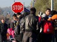 Leichte Sprache: So viele Flüchtlinge kamen letztes Jahr nach Deutschland