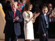 Melania Trump: Gerüchte um gefälschten Abschluss: Melania Trump schaltet Webseite ab
