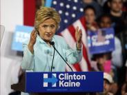 US-Wahl 2016: Vertrauliche Mails verhageln Hillary Clintons Kür