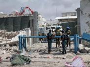Terrorismus: Doppelanschlag in Mogadischu: Mindestens 13 Tote