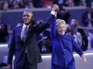 Wahlen: Obama: Demokratische Partei bei Clinton in guten Händen