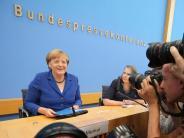 """Ansprache: """"Merkels Ruhe ist Merkels Kraft"""": Die Pressestimmen zur Rede der Kanzlerin"""