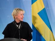 """Schwedische Außenministerin: """"Plötzlich fing mein Tischnachbar an, mich zu betatschen"""""""