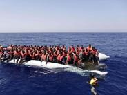 Mittelmeer: Erneut 1800 Flüchtlinge im Mittelmeer gerettet