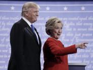"""Pressestimmen: Stimmen zum TV-Duell: """"Hillary Clinton führt Trump vor"""""""