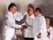 Historisches Abkommen: Friedensvertrag in Kolumbien unterzeichnet