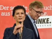 Bundestagswahl 2017: Machtkampf in der Linkspartei ausgebrochen