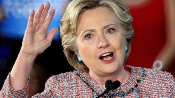 USA: Umschlag mit weißem Pulver in Clintons Wahlkampfbüro eingegangen