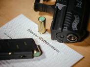 Waffenschein: Immer mehr Bayern bewaffnen sich