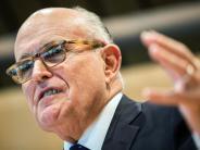 Loyaler Trump-Fan: Rudy Giuliani als künftiger US-Außenminister aus dem Rennen