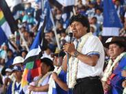 Trotz Verbots: Boliviens Präsident Morales will vierte Amtszeit